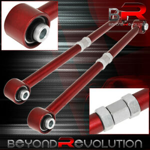 1984 1987 Toyota Corolla Ae86 Adjustable Rear Lateral Control Arm Bar Kit Red