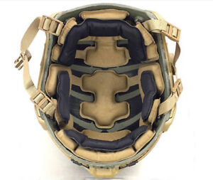 DLP Tactical ImpaX Extreme Pad Set For MICH  OPS-Core  ACH  MTEK Helmet
