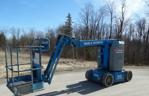 2008 Genie Z 30 20n Rj Boom Lift Diesel 895 Hours Well Maintained Tennessee