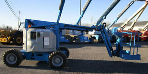 2012 Genie Z 34 22 Ic 4wd Boom Lift Gas 3190 Hours Well Maintained Oregon