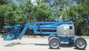 2008 Genie Z4525rt Boom Man Lift Diesel 2444 Hours Well Maintained Michigan
