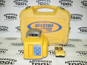 Trimble Spectra Precision Ll400 Rotary Laser Apache Lightning 2 Receiver