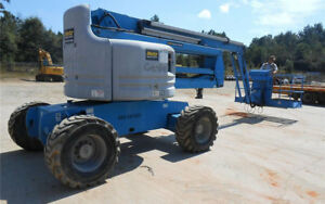 2008 Genie Z 60 34 Boom Man Lift Diesel 3531 Hours Well Maintained California