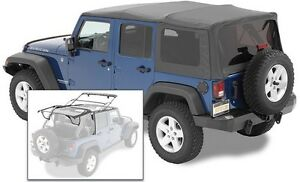 2007 2017 Jeep Wrangler Unlimited Bestop Supertop Nx Soft Top With Hardware