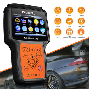 All System Diagnostic Scanner Abs Srs Airbag Epb Oil Scan Tool Foxwell Nt644 Pro