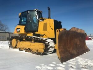 2015 Caterpillar D6k2 Lgp Crawler Dozer 6 way Blade Cab Ac Cat Bulldozer Tractor