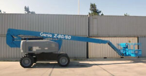 2005 Genie Z 80 60 Boom Man Lift Diesel 4230 Hours Well Maintained Kentucky
