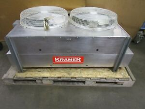 Kramer Hdd 100 2 Fan Air Cooled Refrigeration Condensing Unit 460v R22 1 2hp