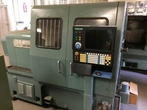 Mori Seiki Sl3a Lathe With New Controller Spindle Drive servo Motors