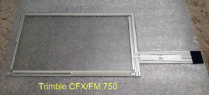 Trimble 750 Fm Cfx Touchscreen Genuine Oem