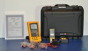 Fluke 744 Documenting Process Calibrator With Hart Nist Calibrated New Case