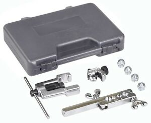 Otc Deluxe Iso Bubble Flare Tool Set W Cutter For Metric Steel Brake Lines 6504