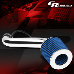 Blue Filter Short Ram Air Intake Pipe For 95 99 Mitsubishi Eclipse 2 0 Non Turbo