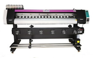 1830mm 72 Large Format Printer Eco Solvent rip wide Banners Vinyls Dual Heads