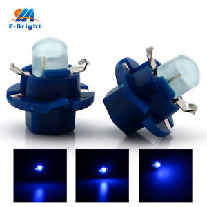 300pcs B8 4d Blue Led Cob Chip 1smd Car Instrument Cluster Dash Gauge Light Bulb