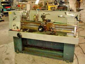 Clausing Colchester 13 X 40 Toolroom Lathe Year 1983 New 8 Chuck
