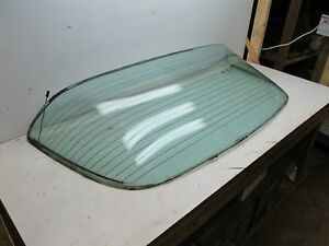 75 81 Original Used Factory Gm Camaro Firebird Rear Window Glass With Defrost