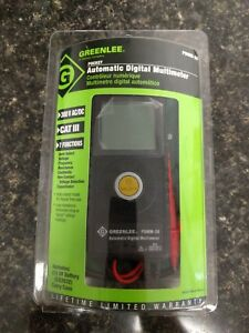 Greenlee Digital Pocket Multimeter Pdmm 20