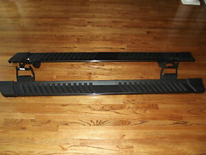 2015 2018 Ford F150 Crew Cab Step Side Bars Oem Running Boards 6 Gray Factory