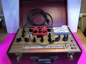 Vintage Hickok Model 6000a Tube Tester Micromho 288 01507 The Best Clean Perfect