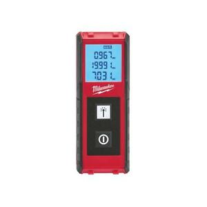 Milwaukee 65 Ft Laser Distance Meter Continuous Real Time Measuring Tool New