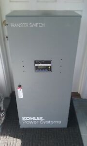 Kohler 400 Amp Power System Transfer Switch Mpac1200