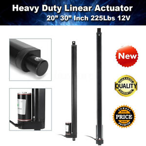 Heavy Duty 20 30 Linear Actuator Stroke 225 Lbs Pound Max Lift 12v Volt Dc