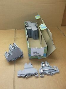 Qty 28 Ukkb 3 Phoenix Contact New In Box Double Level Terminal Block 2771010