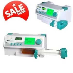 Man vet Hd Lcd Kvo Syringe Pump Ideal For Icu Ccu Audible visual Alarm Fda Ce