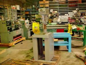 Clausing 16 Vari Speed Floor Model Drill Press With Production Table