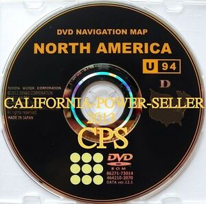 Toyota Lexus Navigation Disk Dvd Cd 86271 73014 Version 12 1 464210 2070