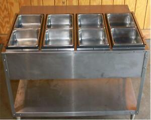 Steam Table Vollrath Serve Well 38118 Stainless Steel Pans Food Warmer