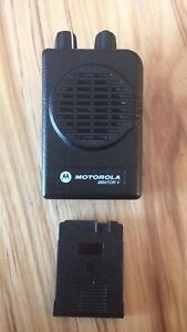 Motorola Minitor V vhf Stored Voice Programming Included