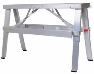 Adjustable Tool Professional Aluminum Drywall Bench Walk up 18 30 Bench New