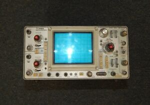 Tektronix 465 100 Mhz 2 Channel Dual Trace Oscilloscope Working R16995