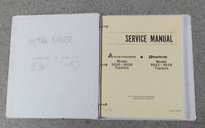 Allis Chalmers 5020 5030 Simplicity 9523 9528 Tractor Service Repair Manual