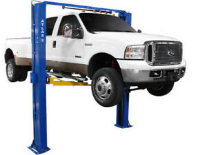 Atlas Pv10 P 10 000 Lb Capacity Adjustable Height 2 Post Lift