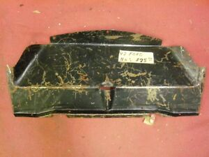 1942 Ford Lower Radiator Air Deflector Pan Nos 21a 8208