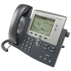 Lot Of 5 Cisco 7942 Voip Business Phone With Stand And Handset Cp 7942g