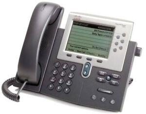 Lot Of 5 Cisco 7962 Voip Business Phone With Stand And Handset Cp 7962g