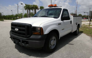 2010 Ford F 350 Truck With Utility Body Diesel Well Maintained California