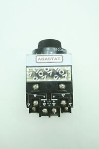 Agastat 7012bc Time Delay Relay 1 5 15 Seconds 240v ac