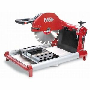 Mk Diamond Bx 4 Brick And Block Saw W diamond Blade Misting System