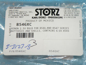 Storz 8546xc Xenon Bulb 2 5v For Use With 8546 Or 8547 Series Battery Shells