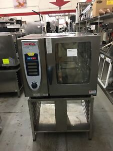 Rational Scc 61e Electric Combi Oven W stand Selfcookingcenter Refurbished