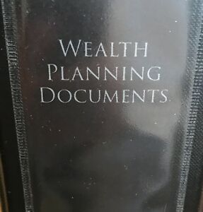 Wealth Planning Notebook Organize Your Important Documents File Organization