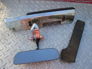 1966 Chevrolet Impala Armrest Gas Pedal And Rear View Mirror