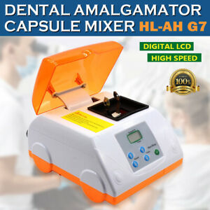 Dental Digital High Speed Hl ah G7 Amalgamator Amalgam Capsule Mixer Lcd Display