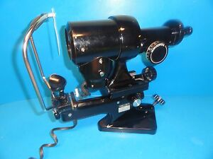 Bausch Lomb Type 71 21 35 One Paosition Keratometer Manual Ophthalmometer 5557