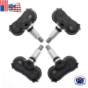 4 Pcs Oem Tire Pressure Sensor Tpms For Honda Crz Insight Odyssey Element Civic